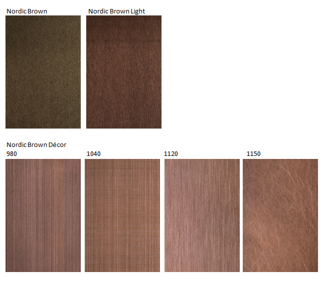 nordic brown colors
