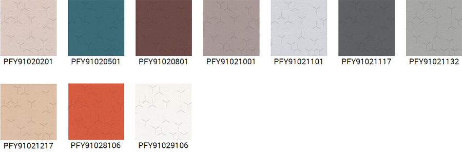 polyform vinacoustic couture colors