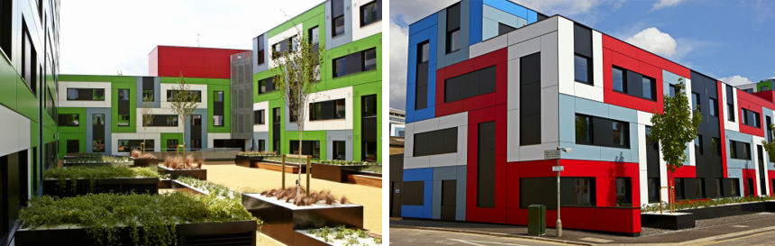 meteon cladding panels